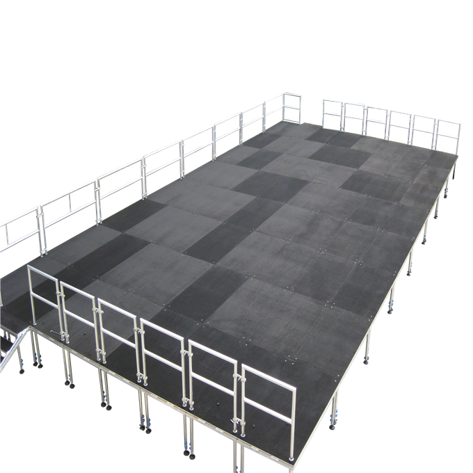 Stable Outdoor Concert Dance Folding Stage Platforms