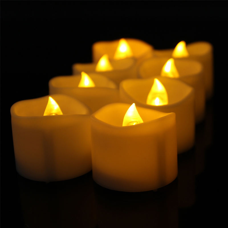 battery operate remote flameless christmas led candle light