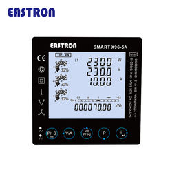 SMART X96-5A Three Phase Multi-parameter RS485 CT Connected Power Meter