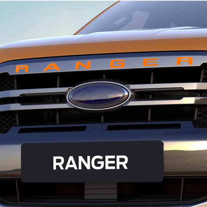 2x F150 Lariat Fender Emblems Decal 3D Badge Nameplate Replacement for 2015-2019 Ford F-150 Black//White Original Size
