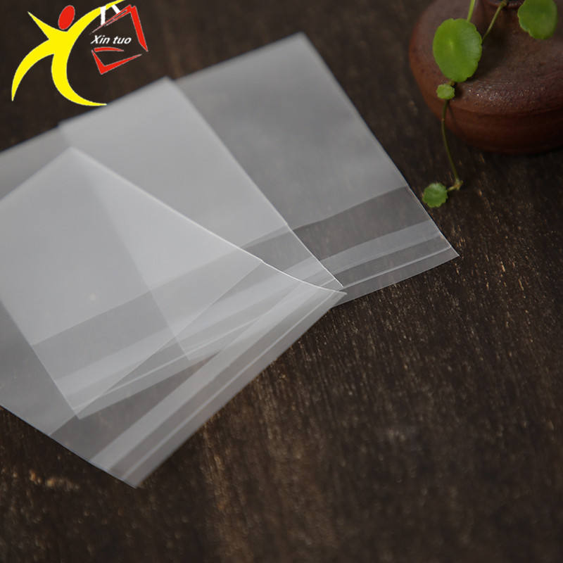 Manufacturers Self Adhesive Poly Bag Translucent Plastic Frosted Opp Bag