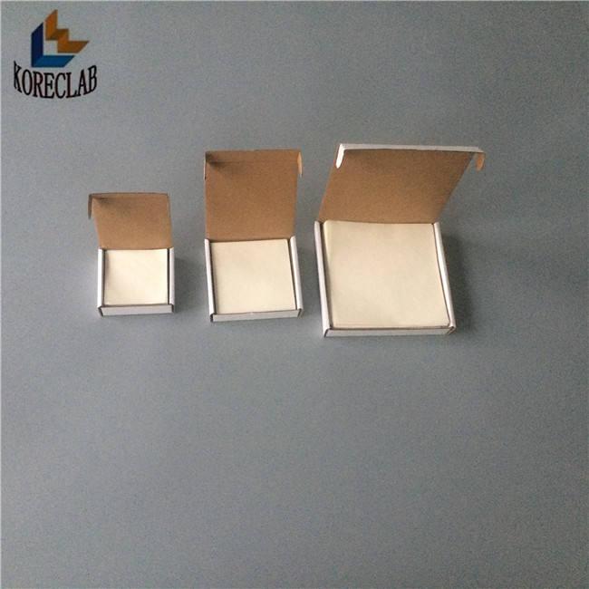 Baixa absorção de nitrogênio não pesando papel manteiga de celulose de alto brilho