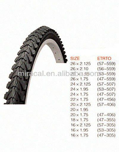 bike inner 20 x 1,75 /à 2,125 av