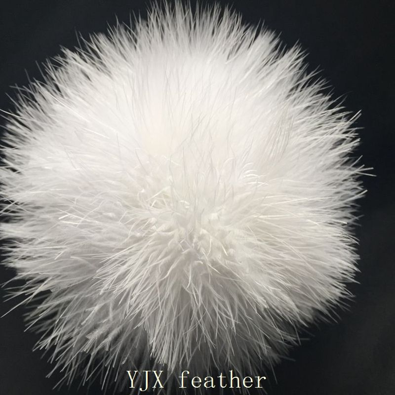 Wholesale Cheap Fluffy Fashion Cute Feather Ball Keychain Turkey Genuine Fox Fur Pompom