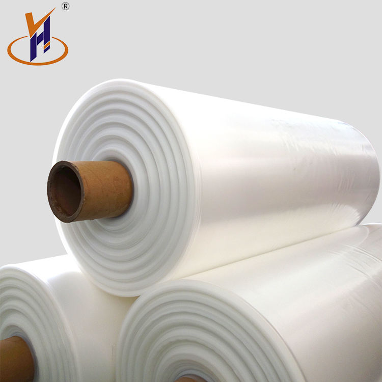 China Made eco-friendly high quality proof hdpe ldpe film rolls for shopping bag greenhouse covering supply
