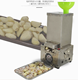 Small electric garlic peeler/garlic peeling machine