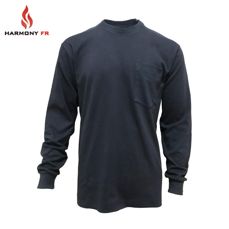 7oz Flame Retardant Aramid Nomex Shirts For Firefighting