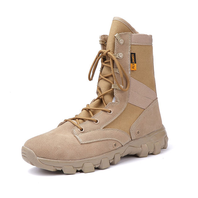 QUQI sports outdoor running shoes army boots 대 한 men 군 boot tactical 전투 work