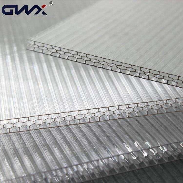 Excellent Load Capacity Transparent Polycarbonate Sheet Panel Plate Cover