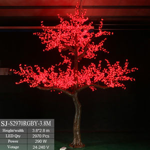 Newest product outdoor led cherry blossom light christmas tree