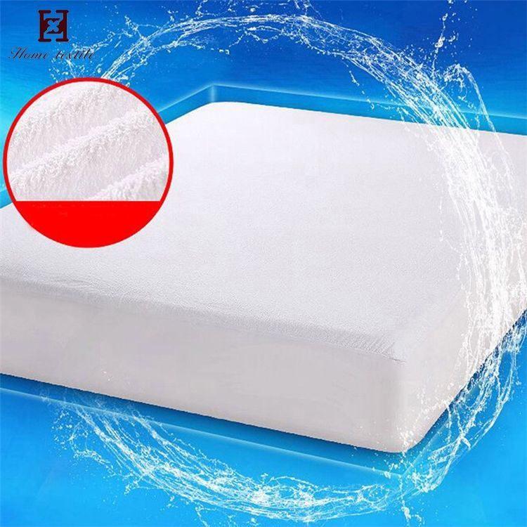 2018 Hot selling wholesale water proof hypoallergenic bedspread bed cover tpu waterproof quilted mattress protector