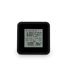 YD8099 Gift Digital Thermometer with Alarm Clock