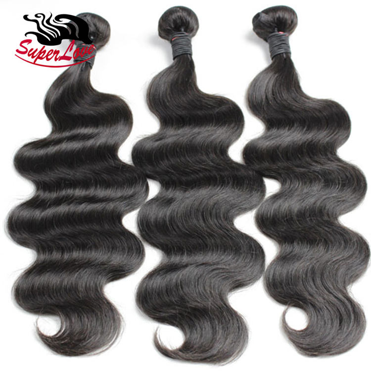 Double drawn Full cuticle aligned raw virgin brazilian body wave bundles , 9A brazilian body wave hair length chart