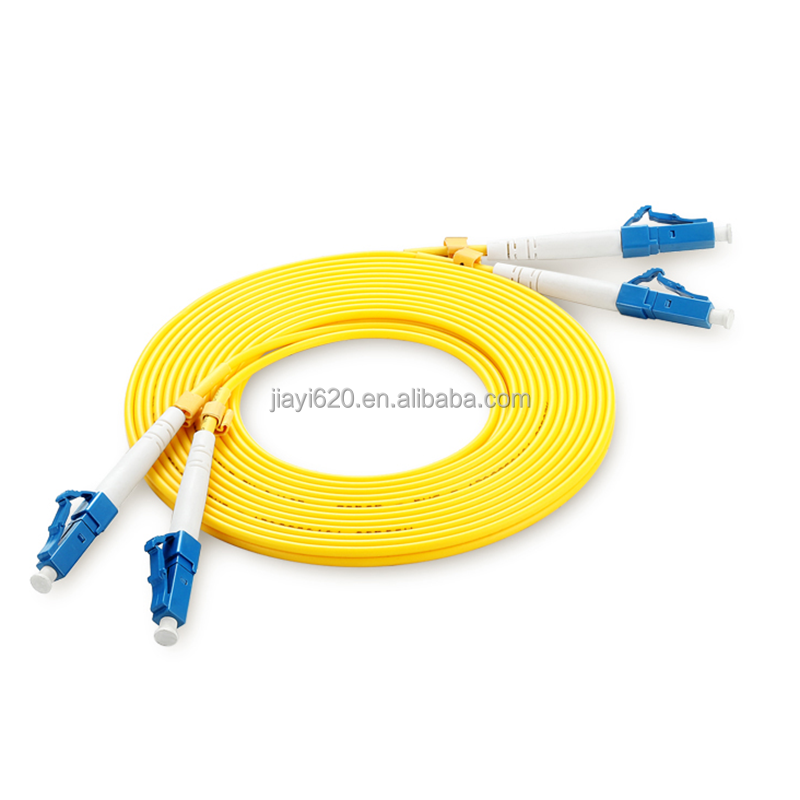 Factory supply LC/UPC-LC/UPC SM 9/125 Duplex LC-LC Fiber Optic Patch Cord