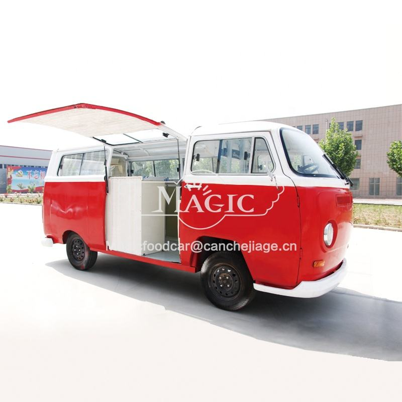 Euro 2 [ Cart Food ] Mobile Catering Trucks Italian Ice Cream Cart Mobile Food Trucks Vintage Design Catering Vans For Sale