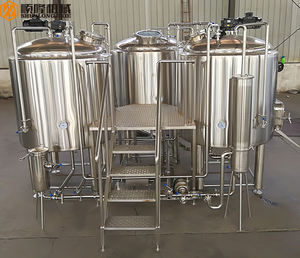 turkey project stainless steel or red copper micro brewery equipment 3bbl conical fermenter