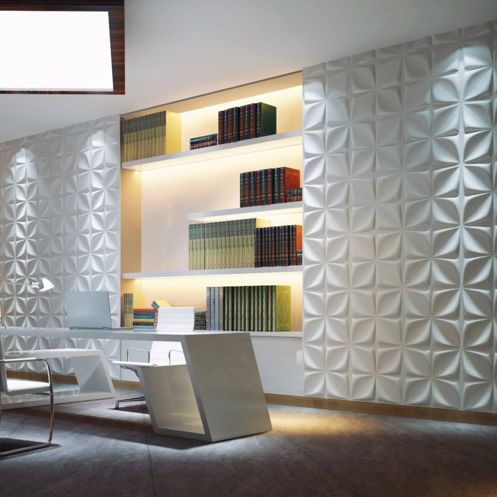 Beijing Modern Wall Art Decor 3D Wall Covering Panels For House Interior