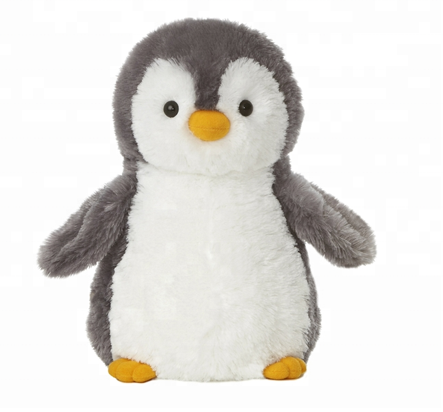 plush stuffed penguin toy for kids play or promotion