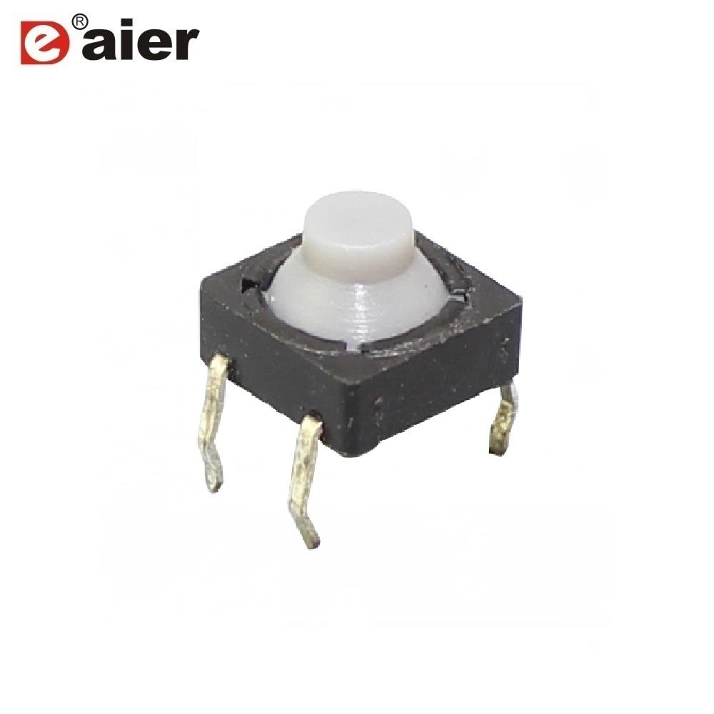 TS*88HS Rubber Tact Switch Cap 8*8*6 PCB 4 Pin Tact Switch^