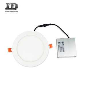 6'' ETL listed ultra thin recessed ceiling downlight round LED panel light