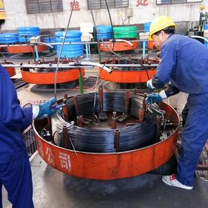 0.4 to 2.3 phosphated or oil tempered spring steel wire