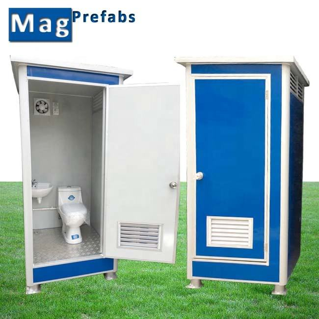 Prefab Public Outdoor Bathroom Mobile Portable Toilet