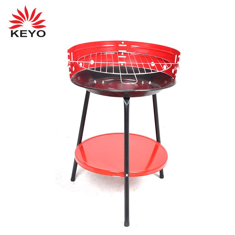 2018 fashion design portatile barbecue grill in acciaio inox pellet grill con carbone