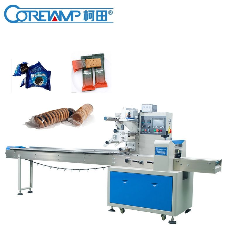 Low Price Automatic Cookies Sandwich Biscuit Packing Machine