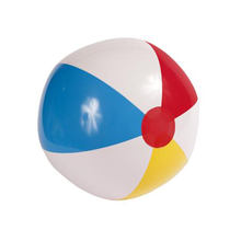 Custom Clear PVC Giant Inflatable Beach Ball With Logo Printing
