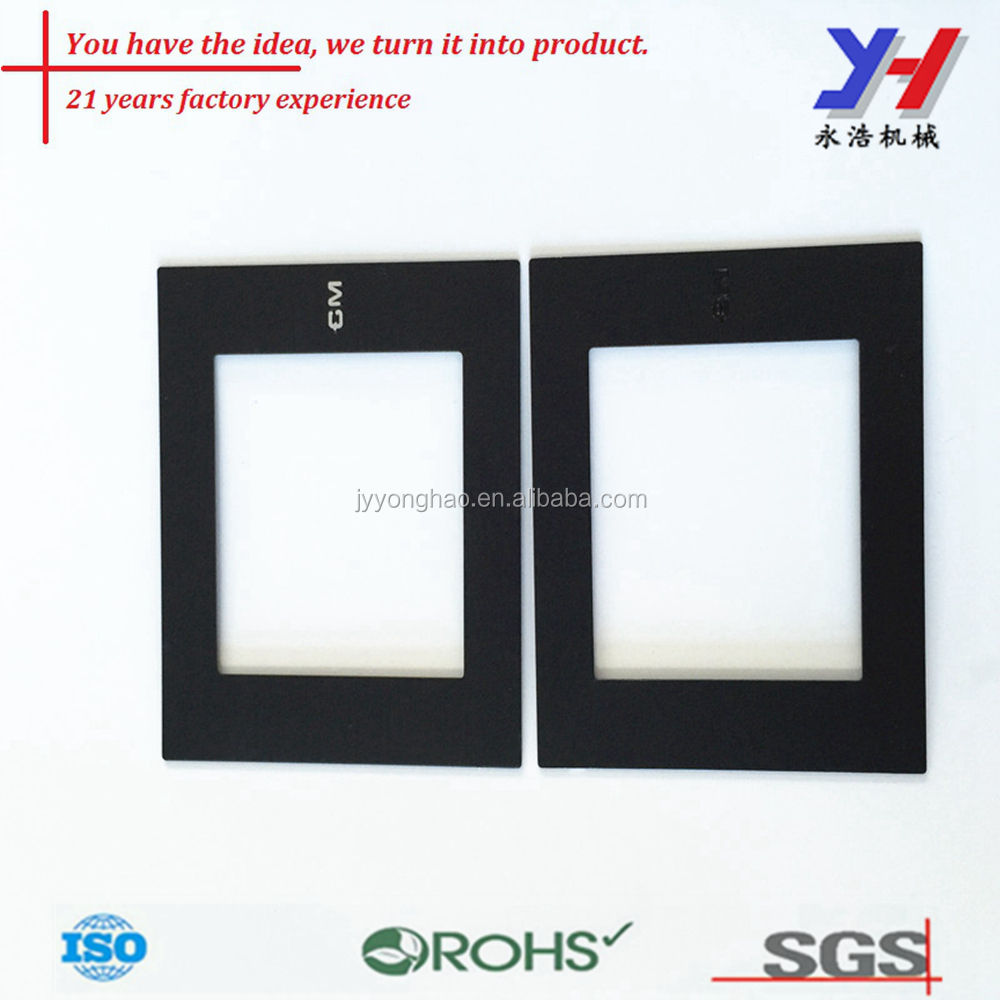OEM ODM aangepaste Modulaire 3 gang switch socket frame muur touchscreen schakelaar panel