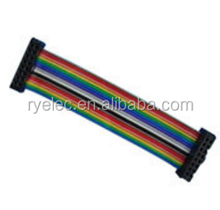 ul2678 30awg pitch 1.27mm idc connector 30 pin ribbon cable