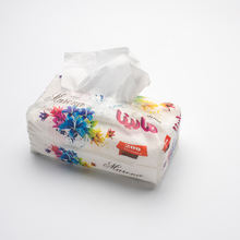 Transparent Packing Facial Tissue