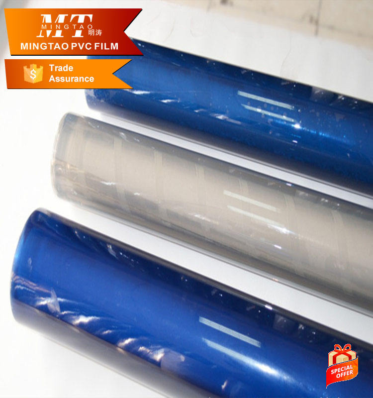 super clear pvc plastic film and normal clear pvc film manufacturers