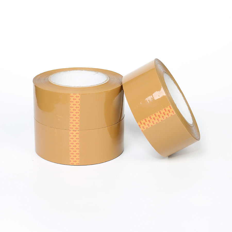 Hot selling brown opp courier reinforced packing parcel tape