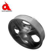 Custom manufacturing sand casting cast iron pulley  flywheel