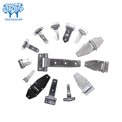 Custom Precision casting stainless zinc plated Door Hinge for Container