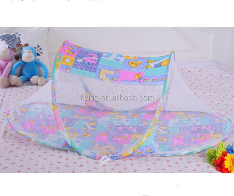 2014 verano nuevo diseño del bebé mosquito net, Plegable y fácil de transportar