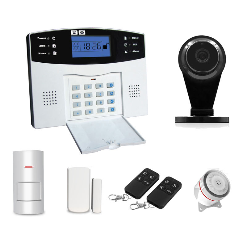 Casa inteligente GSM Home Sistema de Alarme para Home Security