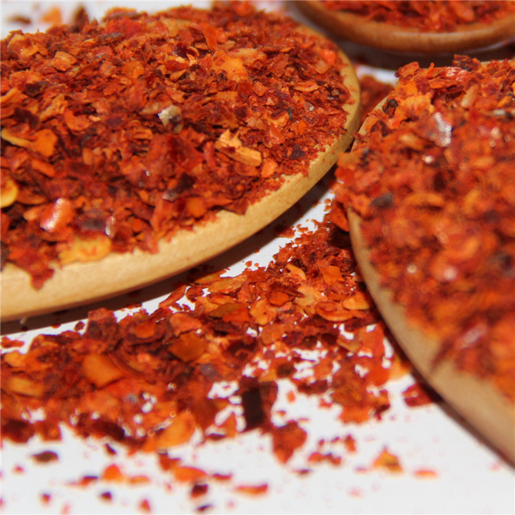 Crushed red chili hot spice dried seasoning yidu red chili crushed