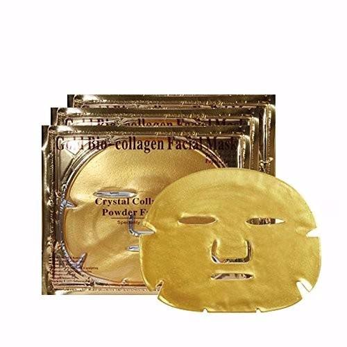 Wholesale Best Quality Pure Gold Collagen Crystal Facial Mask For Whitening Anti-wrinkle
