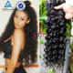 Top Quality Mongolian Natural Wave Hair Unprocessed Remy Virgin Hair Wet Wavy