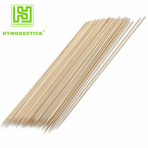 China Supplied High Quality blunt Sticks BBQ bamboo skewer machine use