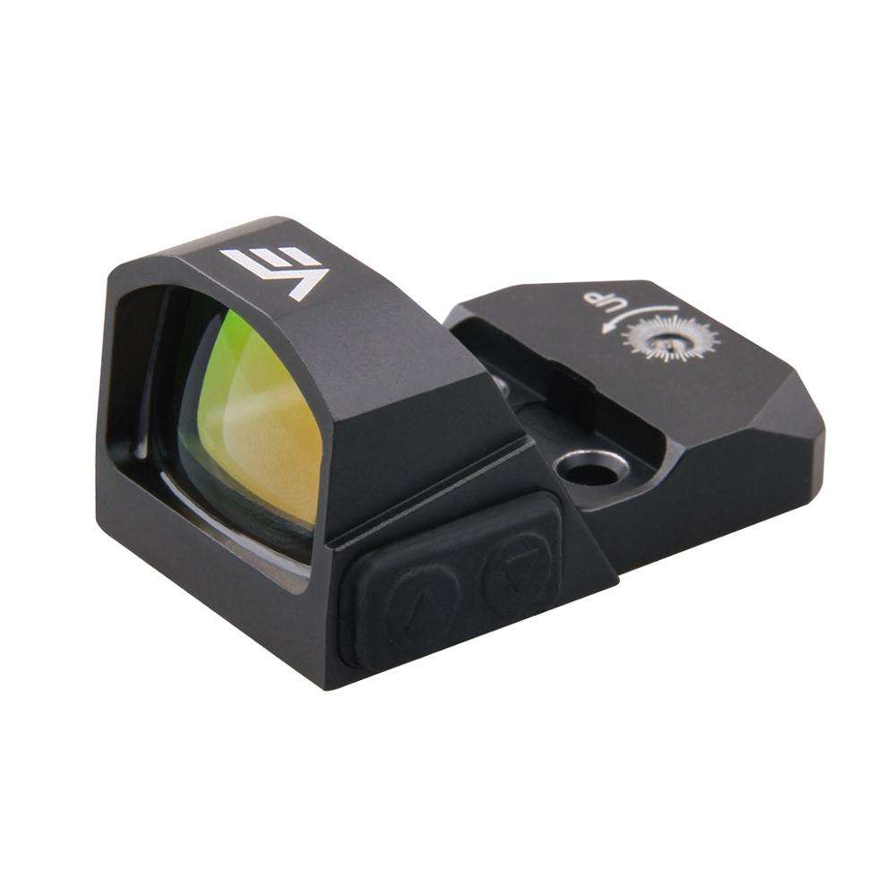 20000 Uur Batterij Runtime 1x17x24 IPX6 Micro Pistool Red Dot Sight Scope w/Schakelaar Controle 0.45CAP