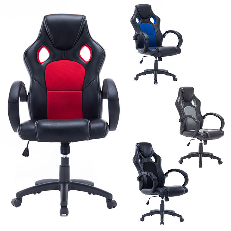 Mesh PU gaming chair executive office chairs racing office chair