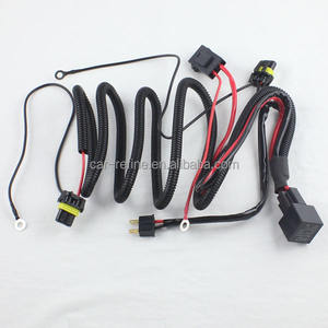 12 V 차 HID 제 논 빛 Relay harness strengthen cables H1 H3 H7 H8 H9 H11 9005 9006 HID 전조등 액세서리 relay harness