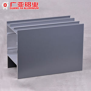 OEM supply aluminum curtain wall system , engineering support fixed curtain wall profile