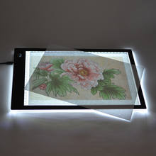 Chinese Supplier Best Sellers DC5V / 12V Acrylic Panel A4 Led Light Pad/ Tracing Drawing Board Tattoo Light Box