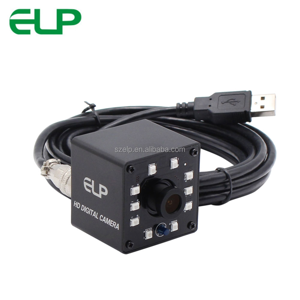 ELP Low lux 850nm ir mini usb webcam com sony IMX 322 sensor de microfone para o sistema de rastreamento de carro
