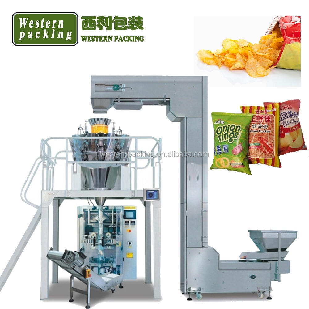 Nitrogen Potato Chip Packaging Machine