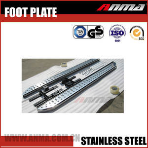 Exterior Accessories Stainless steel led door sill scuff plate